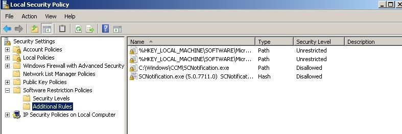 SCNotification exe–This application could not be started -