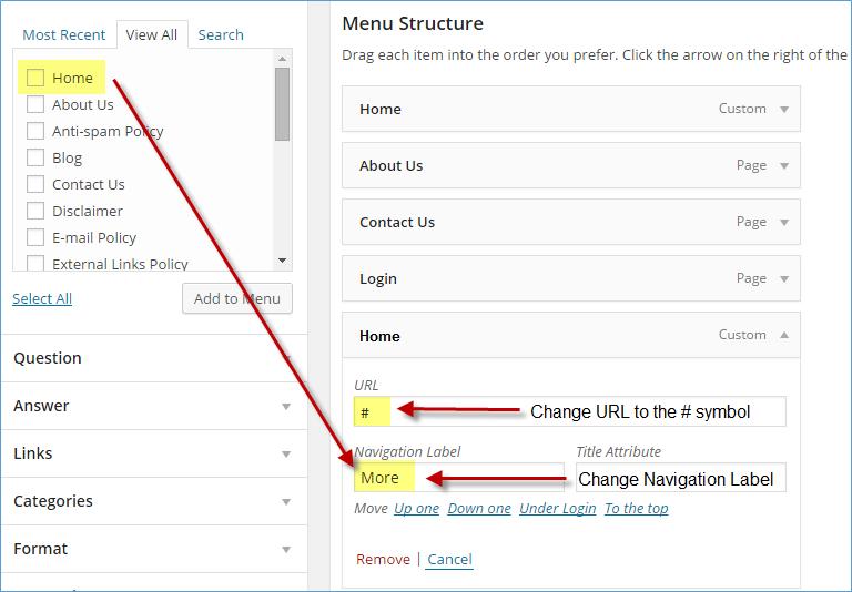 wordpress how to make sub categories