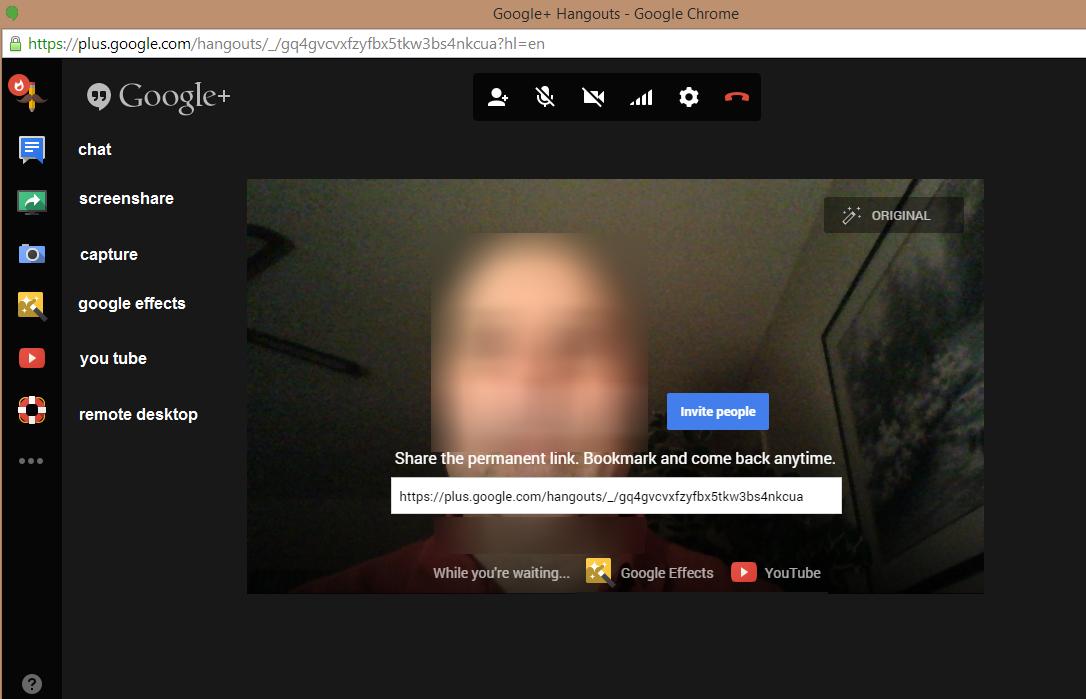 Google Hangouts -
